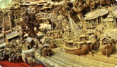 Zheng Chunhui's stunning wood sculpture-1