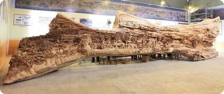 Zheng Chunhui's stunning wood sculpture-7