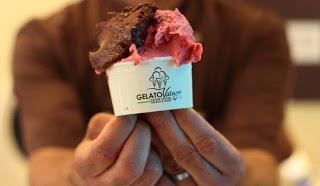 Agrimontana promuove il gelato buono, sano e pulito a Gelato in the Square (UK). Insieme ad Artisti del Gelato