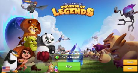 DreamWorks Universe of Legends pubblicato sul Play Store