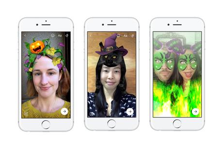 Pronti a celebrare Halloween con Facebook e Facebook Messenger?
