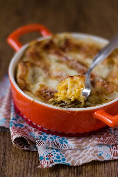 Cannelloni di Crepes alla Zucca