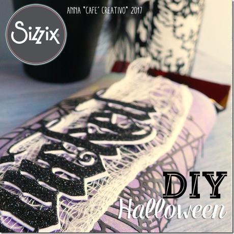[#Sizzix Big Shot] Halloween tavoletta di cioccolato personalizzata