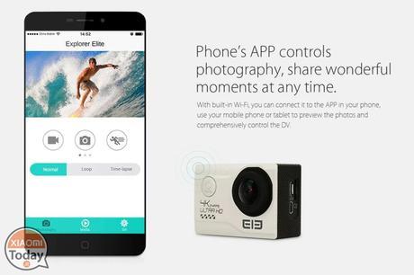 [Codice Sconto] Elephone EleCam Explorer Elite 4K Action Camera Black a 47€ Spedizione Inclusa
