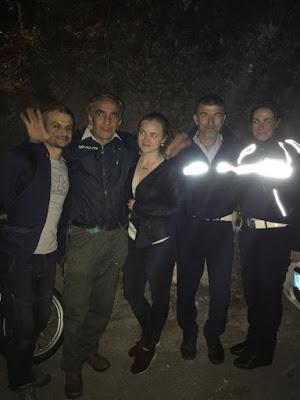 Salvata e soccorsa turista straniere da i nostri vigili