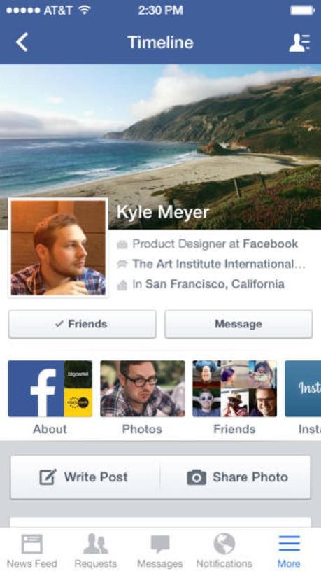 Facebook iOS si aggiorna portando dei miglioramenti alla velocità e alla stabilità [Aggiornato Vers. 147.0]