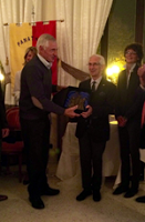PAVIA. Il Premio Angelo Quarenghi al professor Albino Rossi