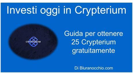 Crypterium la criptomoneta su cui investire