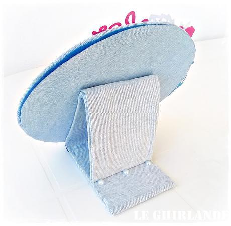 Per lo swap Fiori di Ispirazioni&Co sacchetti di lavanda e ghirlanda-cornice