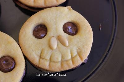 Halloween: Biscotti scheletro per Halloween
