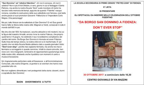 """""""Don't ever stop"""" La Scuola Media Zani non si ferma mai"""