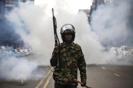 Risultati immagini per proteste in kenya