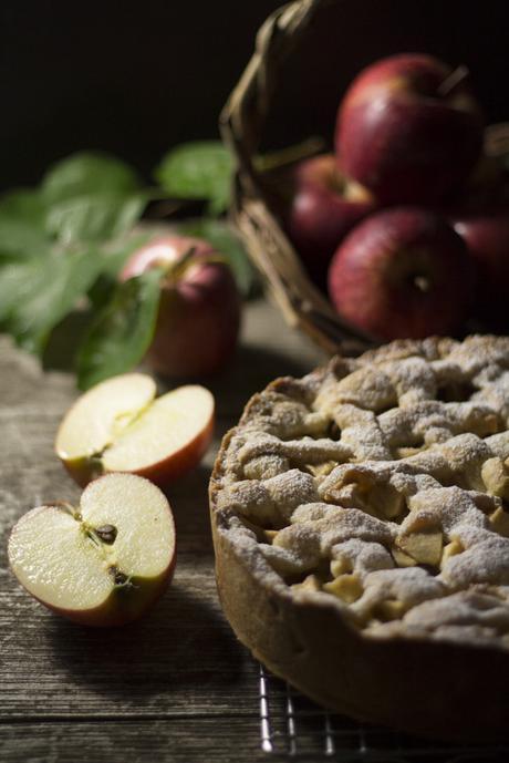 Torta di mele in stile olandese