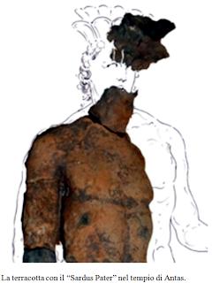 Archeologia. Individuata nel Tempio di Antas, a Fluminimaggiore, la prima raffigurazione del mitico Sardus Pater, la massima divinità sarda dell'antichità.  Riflessioni di Fabio Isman