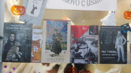 Letture di Halloween alla Libreria Fratini di Firenze