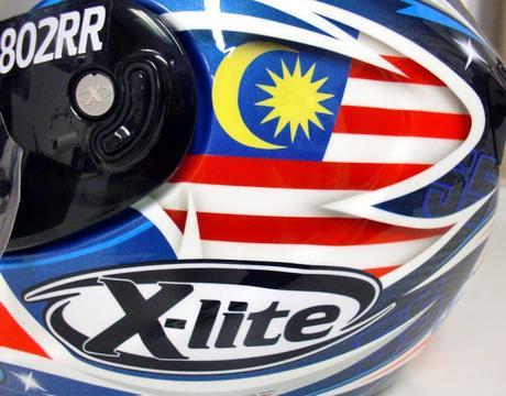 X-lite X-802RR Ultra Carbon H.Syahrin Sepang 2017 by MRD