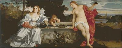 Schemi per il punto croce: Morsacro - Tiziano-