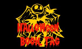 Halloween book tag