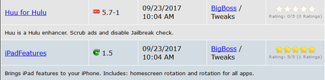 Jailbreak iOS 9.3.x/iOS 10.x – Tutti i Tweak testati e funzionanti [Aggiornato 29.10.2017]