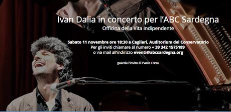 Ivan Dalia: il pianista cieco a Cagliari