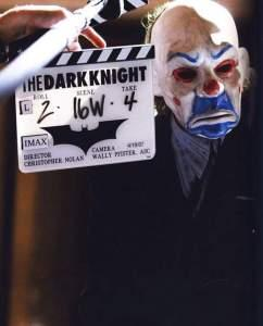 "Una Foto Dal Set Del Film ""The Dark Knight """