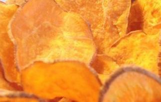 Chips di zucca e radici