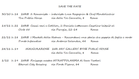 GIANLUCA PAVIA & LIE' LAROUSSE/2dR – SAVE THE DATE