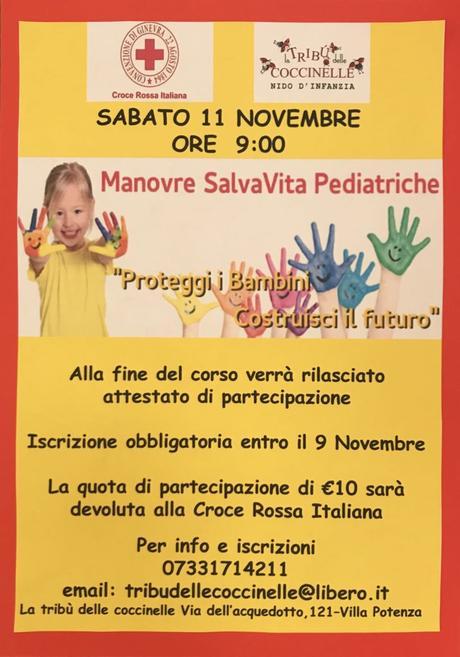Lezione di Manovre Salvavita Pediatriche a Macerata