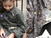 Camouflage, stelle cuori: gonna lunga farà innamorare tutte bambine.