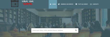 È on line Take the Date, la piattaforma che segnala tutti gli eventi politico/economici che si svolgono in Italia