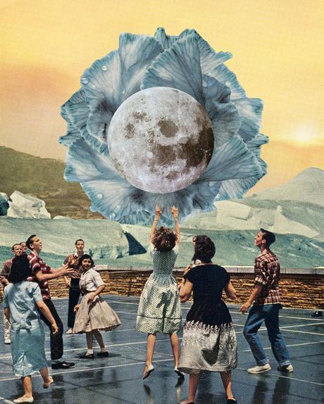 ARTE: Gli opposti nei collage di Jake Lee