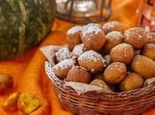 Halloween idee ricette festa speciale: deliziose frittelle dolci alla zucca.