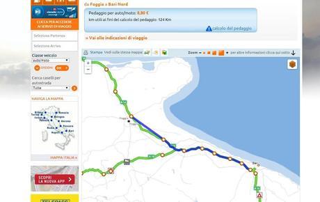 Come calcolare pedaggio autostradale