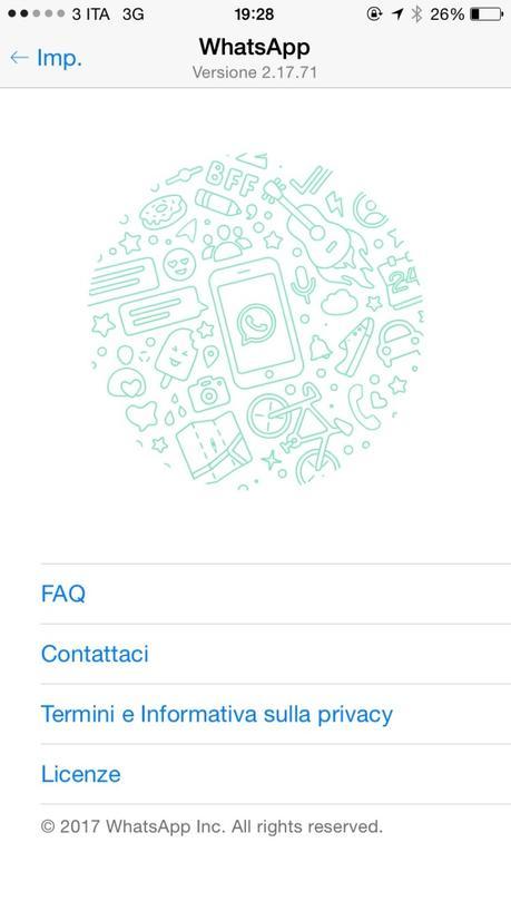 WhatsApp iOS – Un nuovo aggiornamento porta alcune novità e correzioni di bug [Aggiornato Vers. 2.17.71]