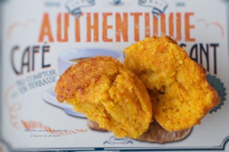 Muffin carote e mandorle col Bimby