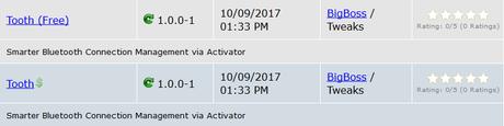 Cydia (iOS 9.3.x/iOS 10.x) – I Tweak già testati e funzionanti [Aggiornato 30.10.2017]