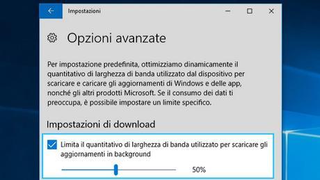 [Guida] Come limitare la larghezza di banda di download di (Windows Update) in [Windows 10]