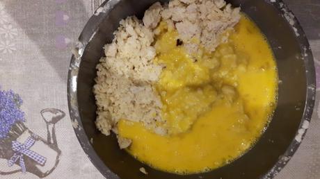 uova e impasto -crostata mele mandorle e cannella
