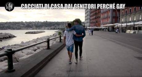 """Video. Napoli, cacciati di casa perché gay: """"Costretti a dormire sul Lungomare"""""""