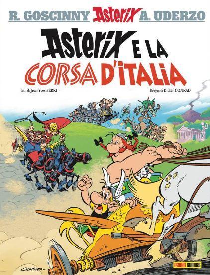 Asterix, il nuovo fumetto è ambientato a Napoli e sul Vesuvio