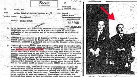 IL File della Cia afferma che Adolf Hitler non si suicidò. Ma andò a vivere in Sud America