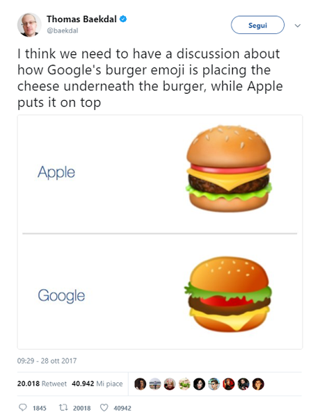 La priorità di Google è trovare l'hamburger perfetto!