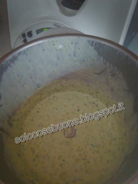 Pasta al forno al pesto