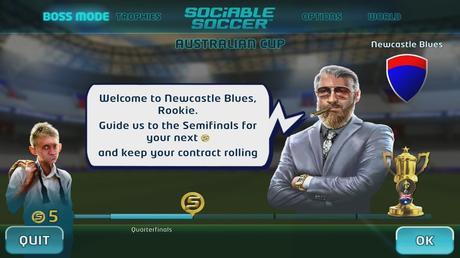 Sociable Soccer, Prime Impressioni
