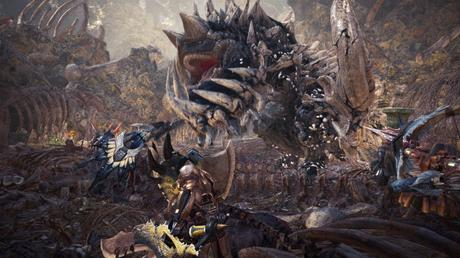 Monster Hunter World in anteprima a Lucca Comics & Games 2017