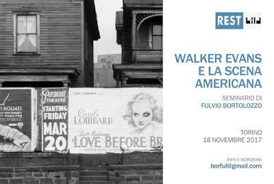 Walker Evans e la scena americana.