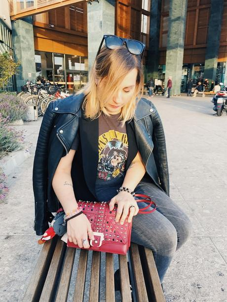Look of the day: Guns & Roses