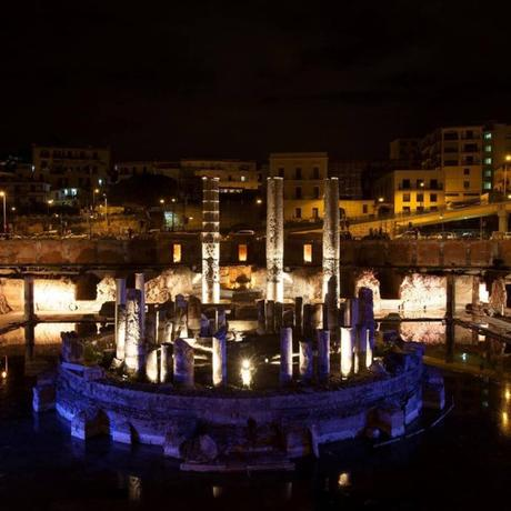 Il Macellum di Pozzuoli si colorerà di notte: 149 luci nell'antico tempio