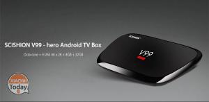 [Codice Sconto] SCISHION V99 – hero TV Box 4/32 Gb a 45€ Spedizione Inclusa