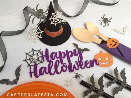 Template cappellino da strega fai da te in carta – idea last minute per party Halloween